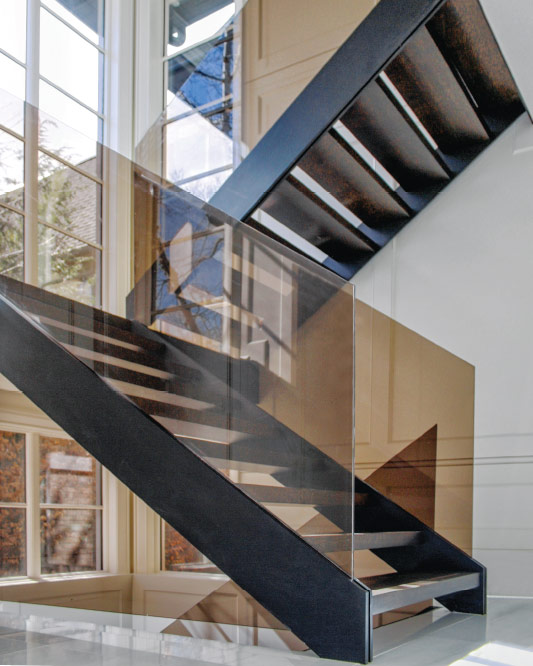 Mrail Modern Stairs About Finishes